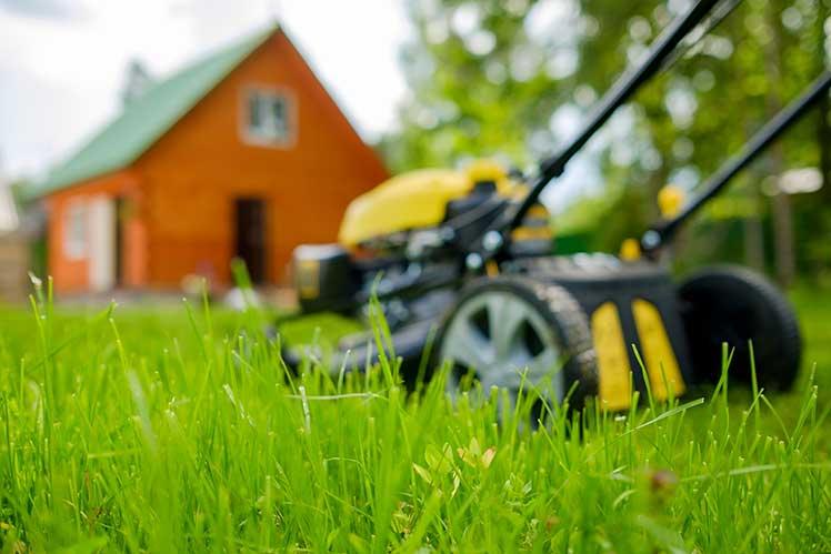 芝刈り機の中堅企業